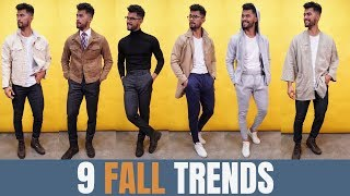9 Fall Style Staples All Men Must Own