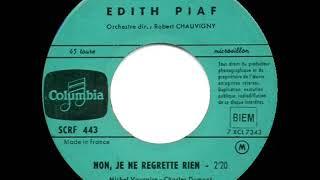 """The """"Inception"""" kick song: Edith Piaf - Non, je ne regrette rien (No Regrets) (1960 French version)"""