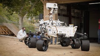 Twin of NASA's Perseverance Mars Rover Now on the Move