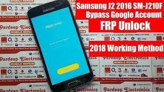 SAMSUNG J210F FRP UNLOCK - Anand d p