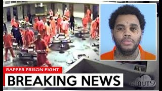 RAPPER Kevin Gates FIGHTS While Locked Up In PRISON, Over GANG BEEF