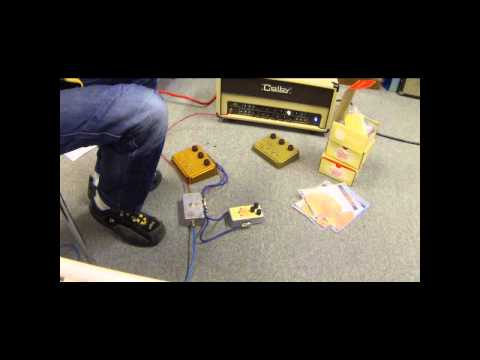 aNaLoG.MaN's Quick and dirty (and clean) demo of E-H Soul Food pedal