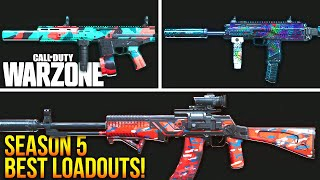 Call Of Duty WARZONE: The BEST LOADOUTS For SEASON 5! (WARZONE Best Setups)