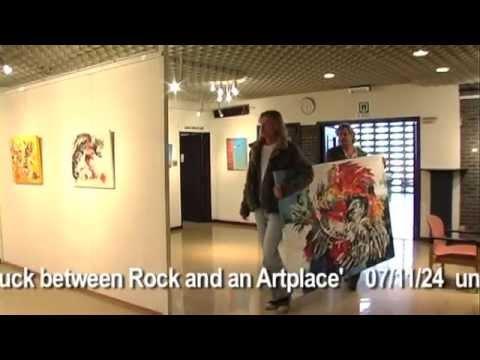 Adrian Vandenberg - His first Art Exhibition