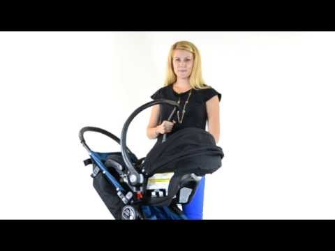 How to turn a City Mini into a travel system with car seat adapter brackets