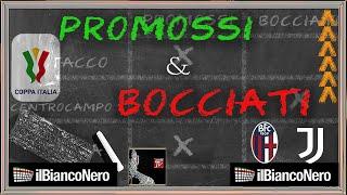 Bologna - Juventus 1-4, i voti: