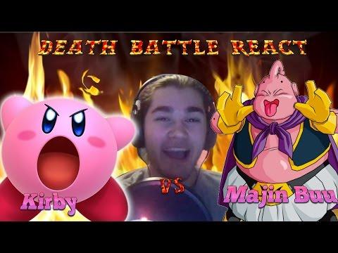 MonkeeMan Reacts to DEATH BATTLE   Kirby Vs  Majin Buu!!!