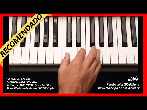 Piano popular - aula 1 iniciante - teclado - Mais que Musica nivel zero