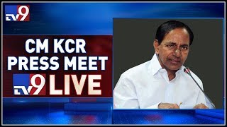 CM KCR Press Meet LIVE After Cabinet Meeting @ Pragathi Bh..