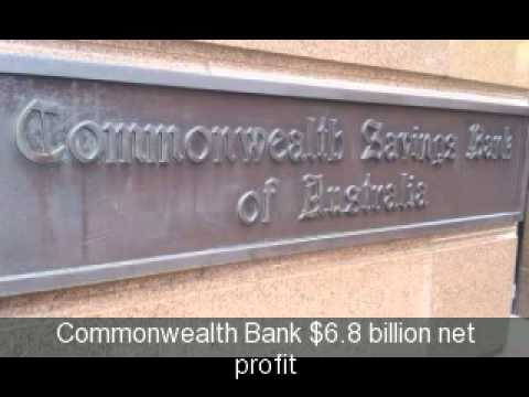 Australian Banks: NAB Westpac ANZ Commonwealth