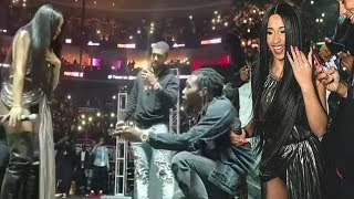 Offset Proposes to cardi B FULL VIDEO MUST WATCH!!!