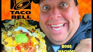 Taco Bell® BOSS Nachos REVIEW!