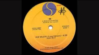 """M -  Pop Muzik ( 12"""" Long Version)"""