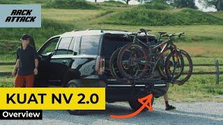 Kuat NV 2.0 Platform Bike Hitch Rack Review Overview Demonstration