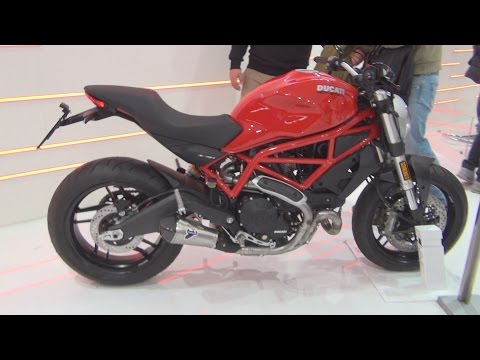@DucatiMotor Ducati Monster 797 Red (2017) Exterior and Interior in 3D