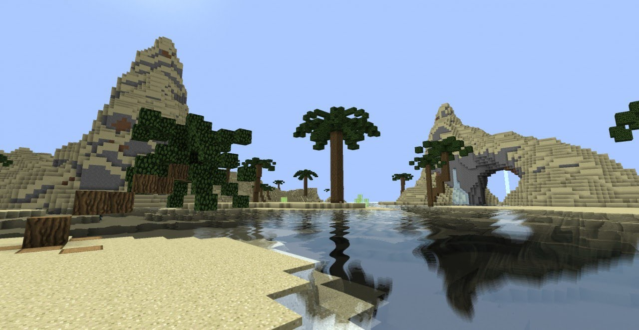 Image Result For Minecraft How To Build A Palm Tree