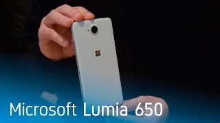 Video Microsoft Lumia 650 w05bl8isWBk
