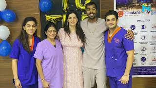 Hardik Pandya shares pics with Natasa from hospital post c..