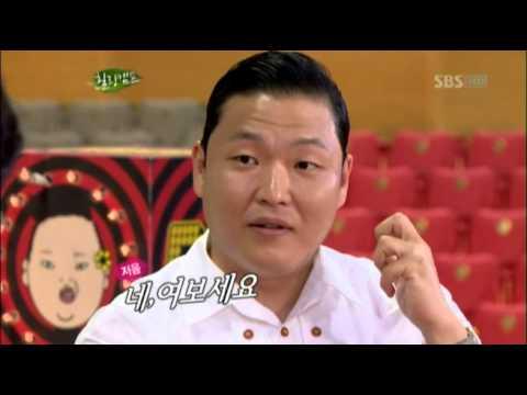 싸이의 가수데뷔 조PD 덕분?! @힐링캠프, 기쁘지 아니한가! 20120813