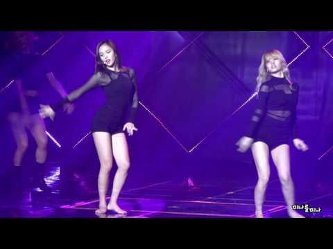 160807 JYP Nation concert 24시간이 모자라 미나 직캠