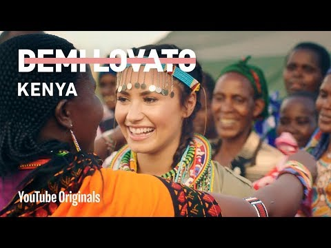 Demi Lovato's Trip to Kenya