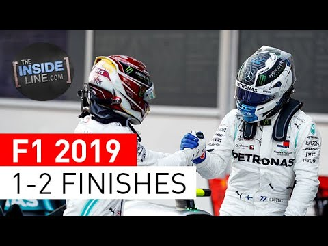 F1 RECORDS: 1-2 FINISHES