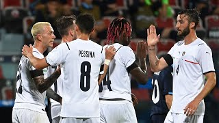 Highlights: Italia-San Marino 7-0 (28 maggio 2021)
