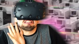 SCARIER THAN IT LOOKS | The Cubicle (HTC Vive Virtual Reality)