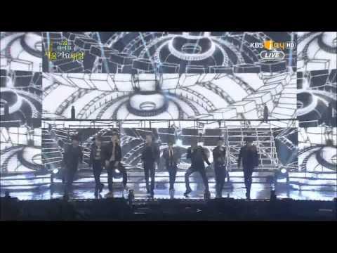 130131 22nd Seoul Music Awards   Super Junior M    Break Down