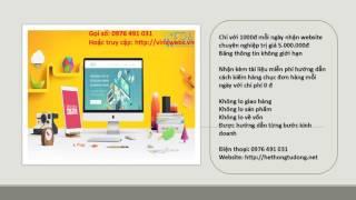 Tạo website kinh doanh hiệu quả chuyên nghiệp