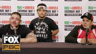 Andy Ruiz Jr: I was at 60% vs Arreola, talks potential Luis Ortiz fight & heavyweights | PBC ON FOX