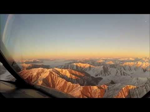 Approach and Landing in Queenstown, New Zealand