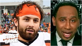 Stephen A. names the Browns and Bucs as the NFL's most improved teams | First Take