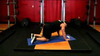 body building Glute Kickback Exercise