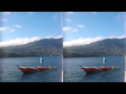 3D Bangka Boating in the Philippines & Coral Reefs with 3D GoPro Lens
