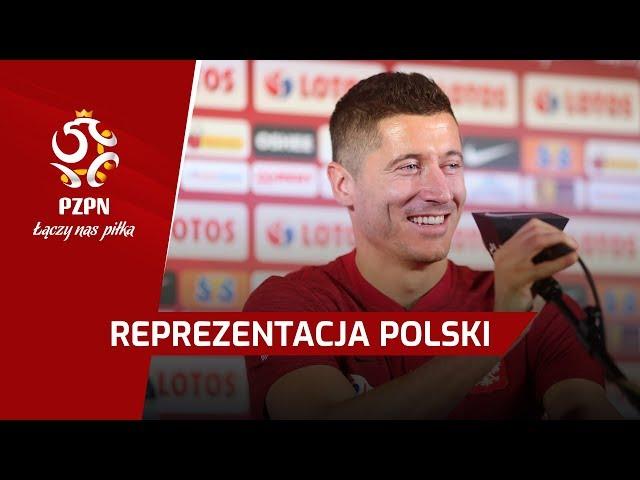 Konferencja prasowa | Brzęczek, Lewandowski [VIDEO]