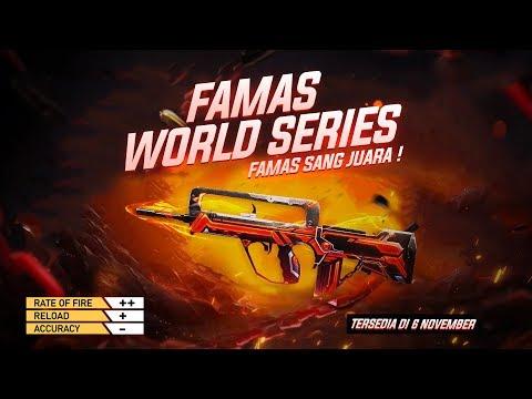 Próximo Arma Royale da Famas Espírito Guerreiro no Free Fire