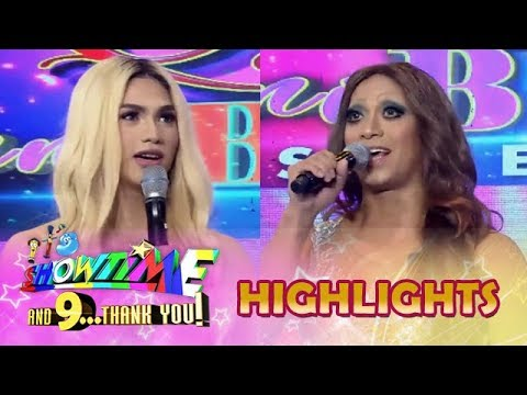 It's Showtime Miss Q and A: Kid Kardashian and Alakdawn Zulueta face off in Beklamation