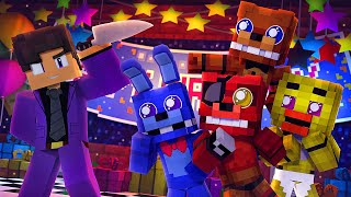 Minecraft FNAF KIDS Movie - Five Nights At Freddy's (Minecraft Roleplay)