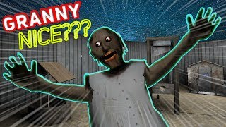 Nice Granny PLAYS OUTSIDE WITH US!!! (New Update) | Granny Mobile Horror Game (Messing Around)
