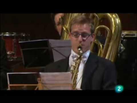El saxofon en la orquesta