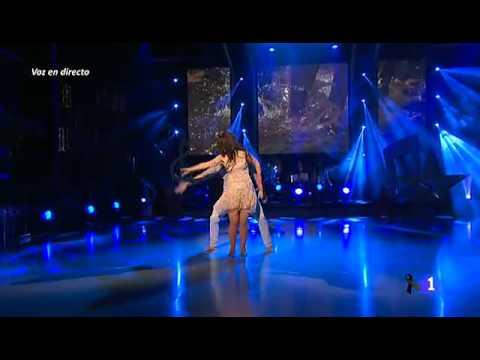 Ruth Lorenzo - Dancing in the rain (Mira quién baila) - LIVE + DANCING