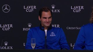 Press Conference: Team Europe,  Day 3, September 22 2019