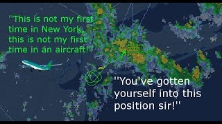 Angry New York ATC argues with Aer Lingus pilot [ATC Audio]