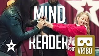 Mind Reading MAGICIAN ISSY SIMPSON From Britain's Got Talent Amazes Everyone! VR180 Got Talent