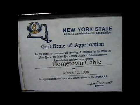 NYS Athletic Conference Award 4-1-98