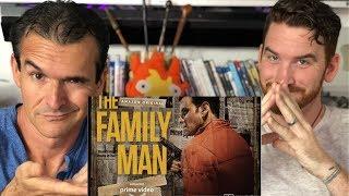 The Family Man Trailer REACTION!!   Manoj Bajpayee