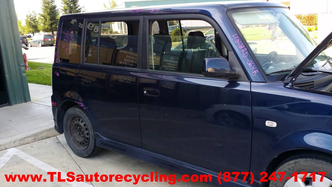 Scion Xb 2005 Rear Hatch Door Wiring Diagram 44 2004 Engine Maxresdefault Parting Out 2006 Stock 4048rd Tls Auto Recycling Parts