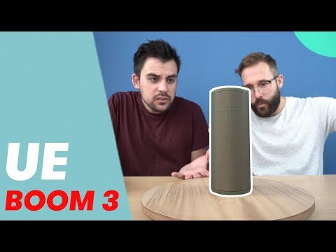 video Ultimate Ears BOOM 3