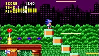 Sonic 1 Remastered - Spring Yard Zone Act 1 - MP3HAYNHAT COM